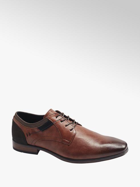 Venice Mens Tan Formal Lace-up Shoe