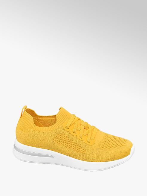 Venice Sock Sneaker in Gelb