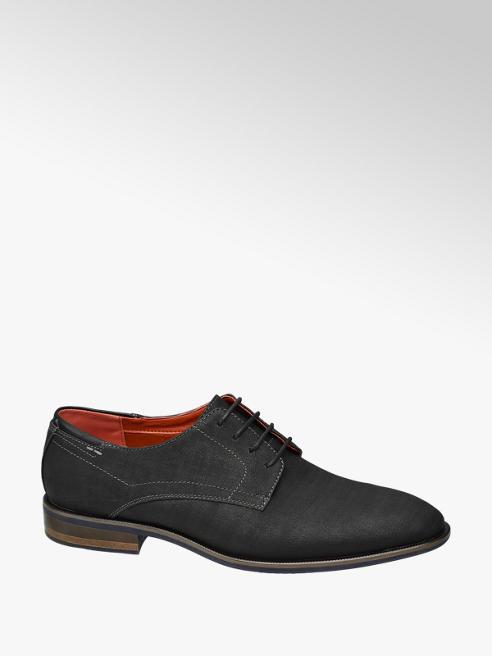 Venice Zwarte geklede schoen