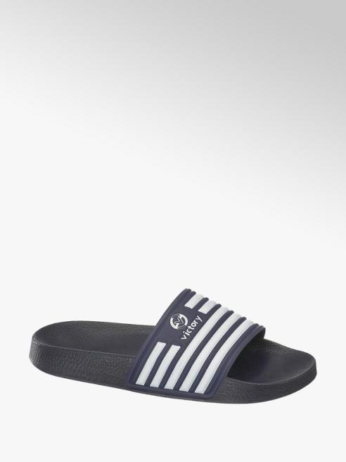 Victory Blauwe slipper