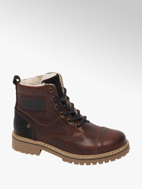Victory Bruine boot vetersluiting