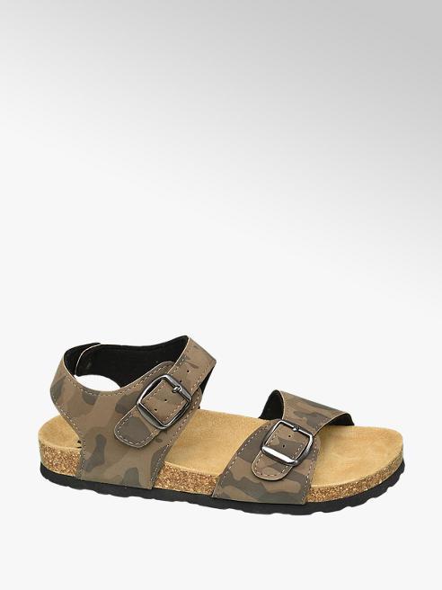 Victory Camouflage sandaal gespsluiting
