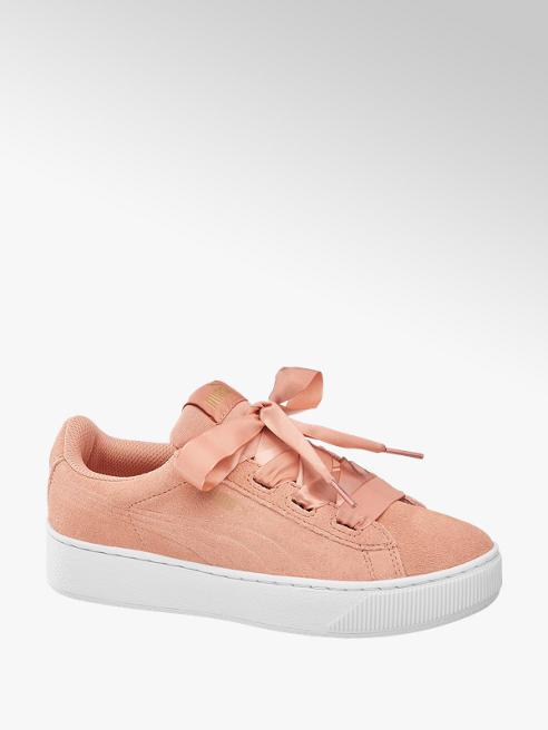 Puma Vikky Platform Ribbon Jr. Mädchen Sneaker