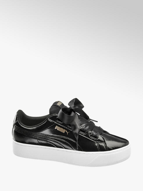 Puma Vikky Platform Ribbon Sneaker