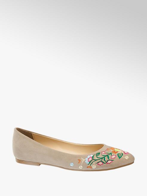 Graceland Virágmintás balerina