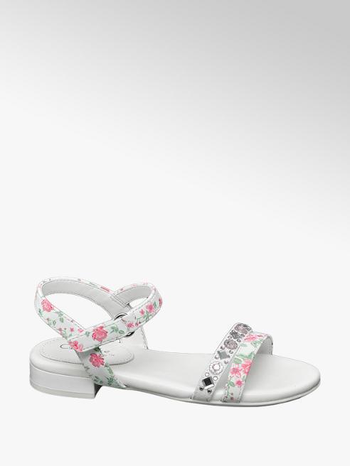 Cupcake Couture Virágmintás lány szandál