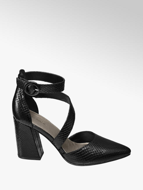 Star Collection Vristrem Pumps Reptil-Look