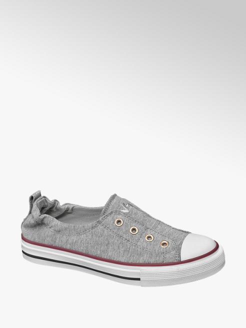 Vty Grijze instap sneaker