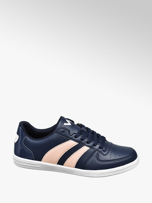 Vty Ladies VTY Blue Lace-up Trainers