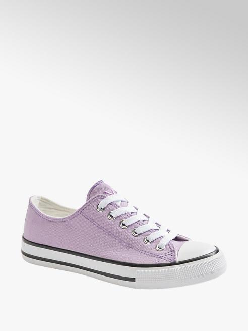 Vty Leinen Sneaker in Lila