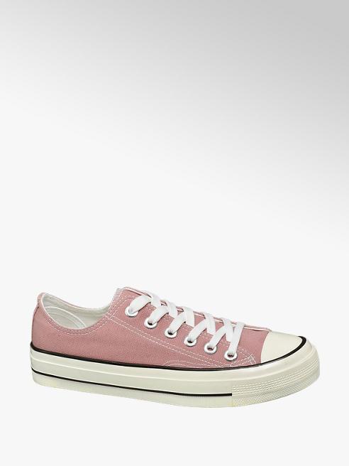Vty Leinen Sneaker in Pink