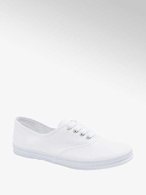 Vty Leinen Sneaker in Weiß