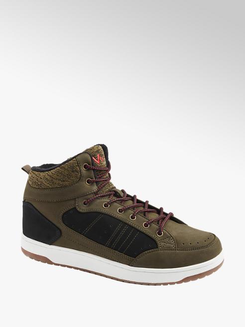 Vty Mid Cut Sneaker in Olive