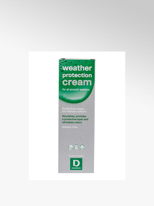 White Weather Protection Shoe Cream