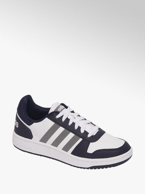 adidas Witte Hoops 2.0