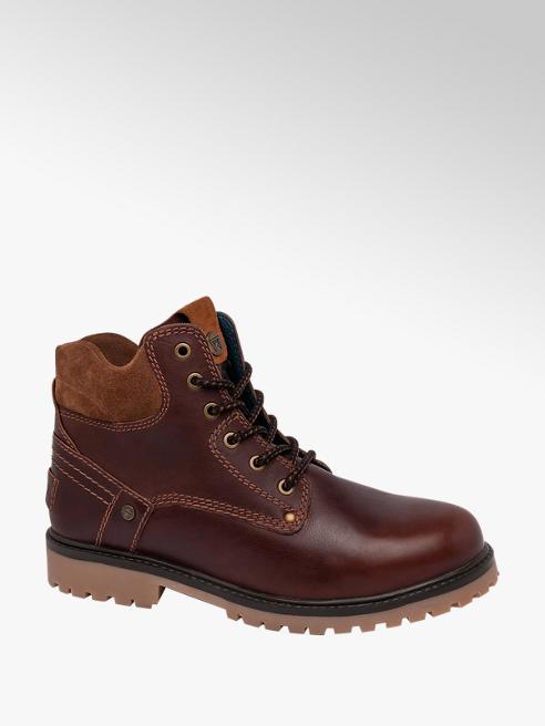 Wrangler Mens Wrangler Yuma Brown Lace-up Boots
