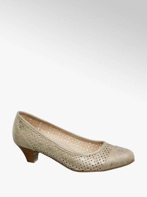 Easy Street Zapato de tacón troquelado