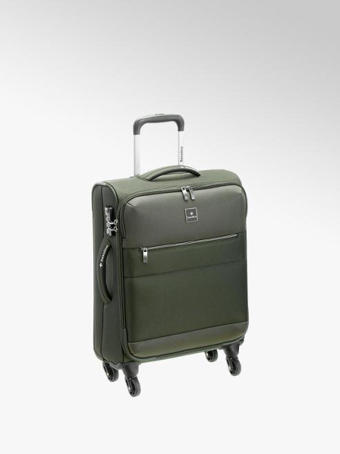 saxoline Zelený cestovní kufr Saxoline, vel. S