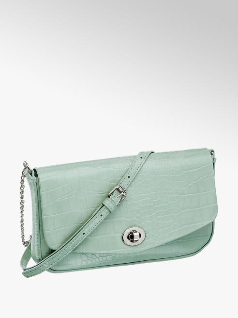 Graceland Zelená kabelka so zvieracím vzorom Graceland
