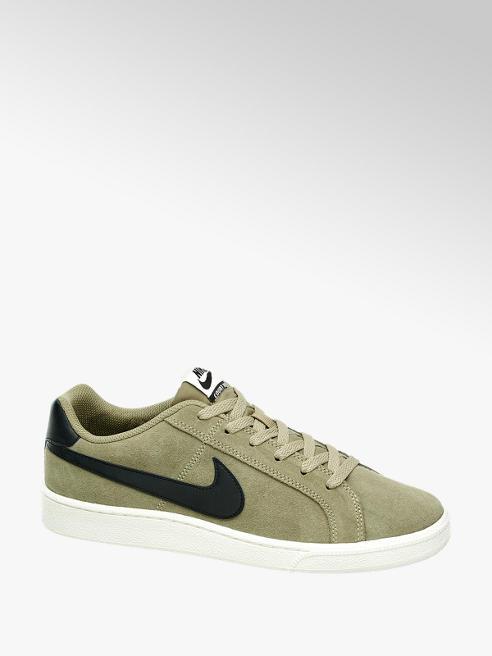 NIKE Zelené semišové tenisky Nike Court Royal Suede