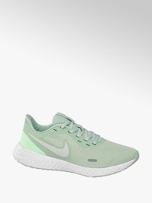 NIKE Zelené tenisky Nike Revolution 5