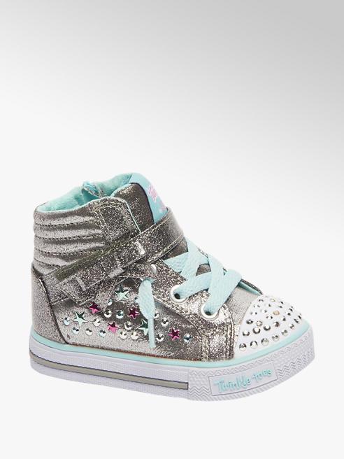 Skechers Zilveren sneaker glitter