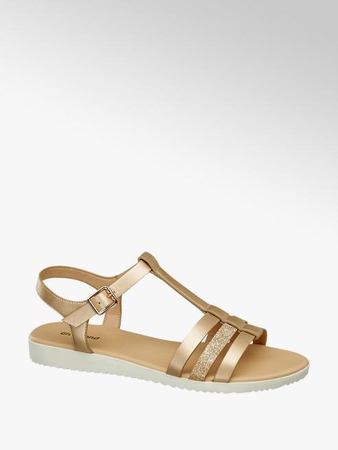 Graceland Zlaté sandály Graceland