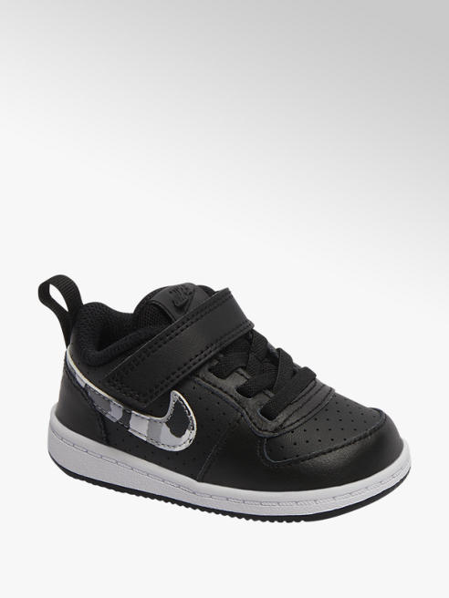 Nike Zwarte Court Borough LOW
