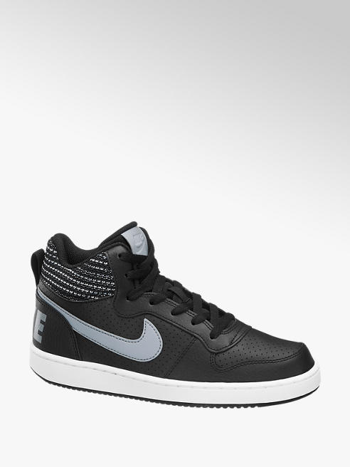 Nike Zwarte Court Borough MID