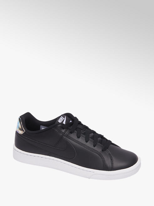 Nike Zwarte Court Royale