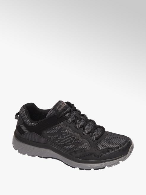 Skechers Zwarte lightweight sneaker memory foam