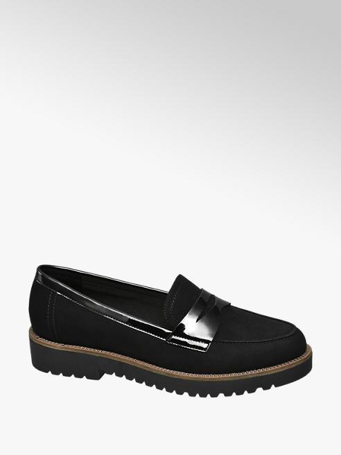 Graceland Zwarte loafer grove zool
