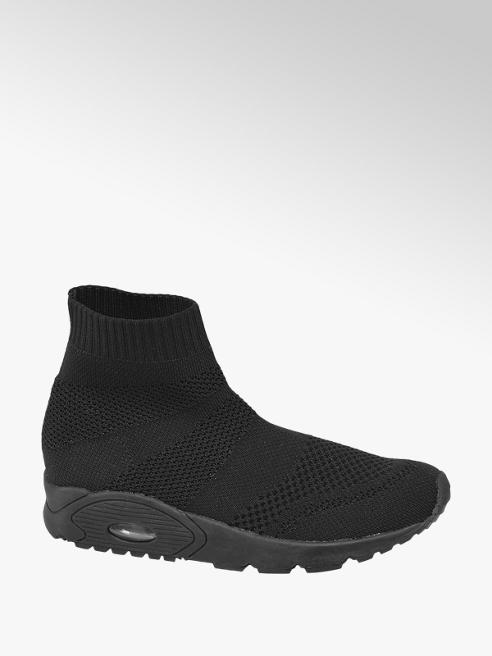 Graceland Zwarte sock boot