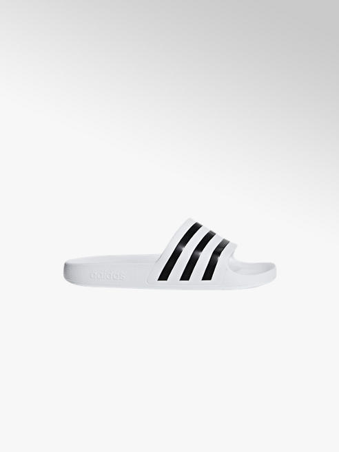 adidas Adiletten AQUA in Weiß