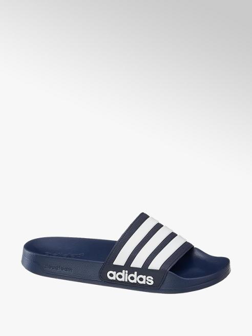 adidas Adiletten CLOUD FOAM SPLASH in Blau