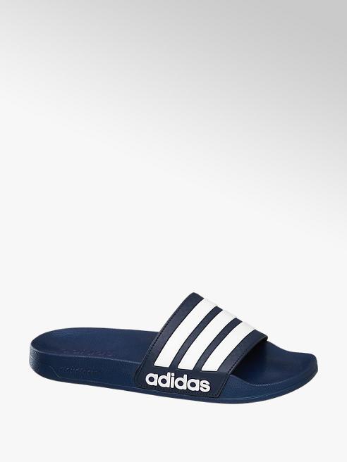 adidas Adiletten CLOUDFOAM SPLASH in Blau