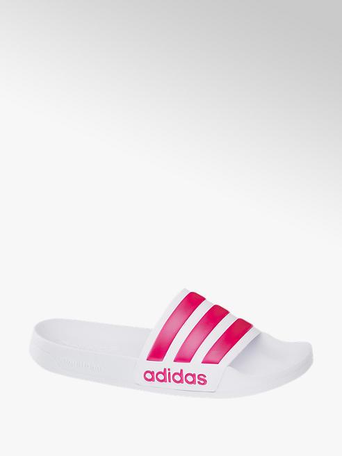adidas Adiletten SHOWER in Weiß