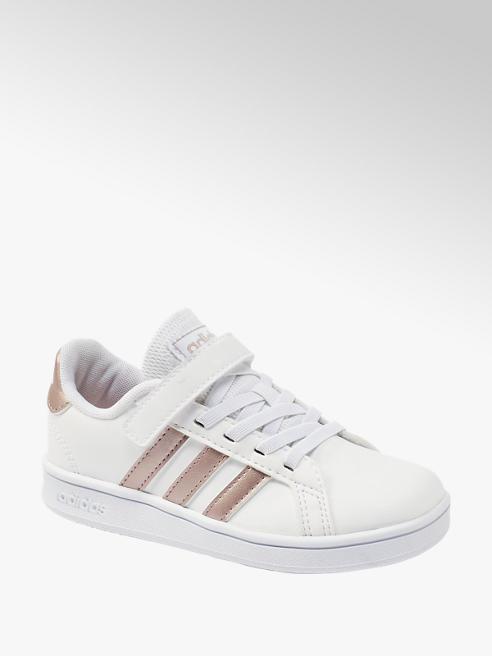 adidas Klettschuhe GRAND COURT in Weiß