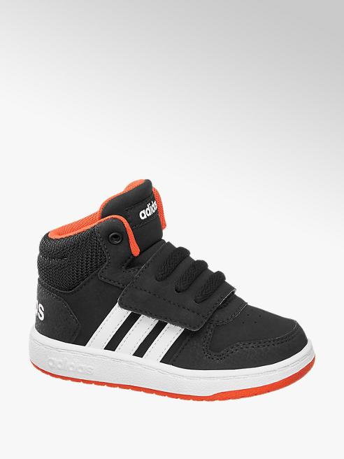 adidas Mid Cut Sneakers HOOPS MID 2.0 in Schwarz