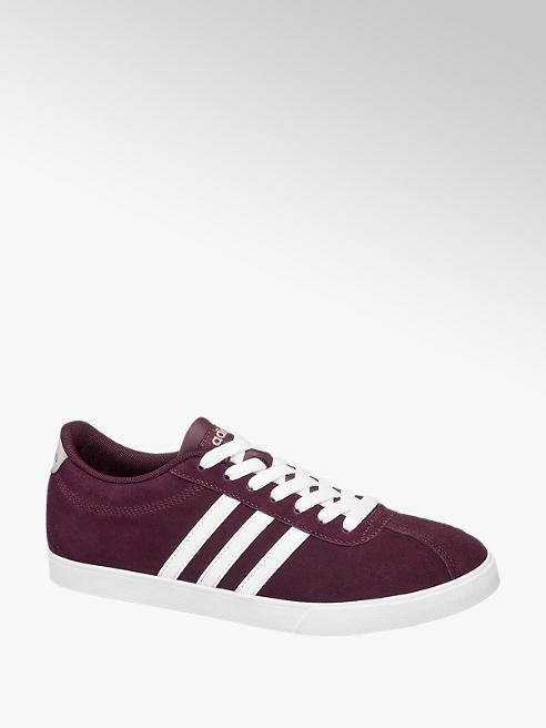 adidas Sneaker COURTSET in Weinrot