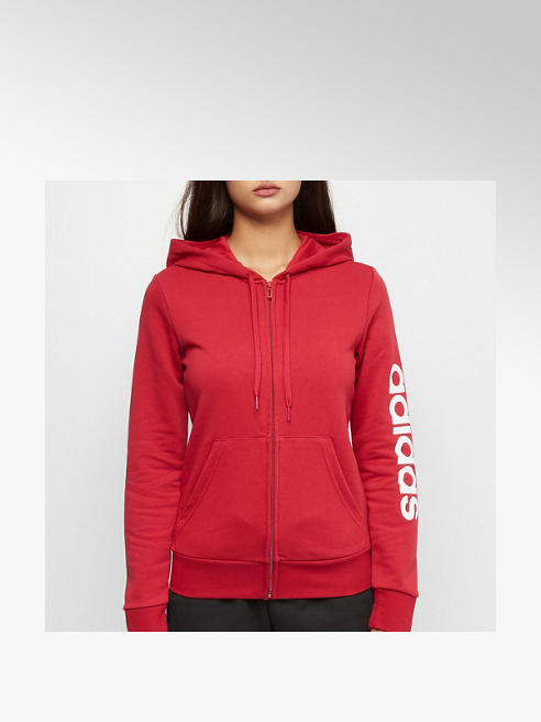 adidas Sweatjacke in Rot