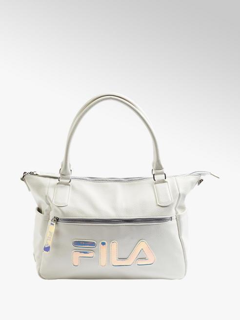 Fila biała torebka damska Fila z efektem hologramu