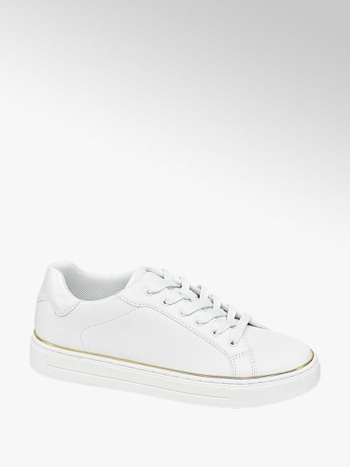Graceland białe minimalistyczne sneakersy damskie Graceland