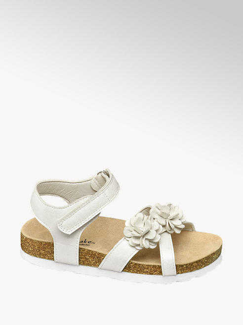 Cupcake Couture białe sandałki dziewczęce Cupcake Couture