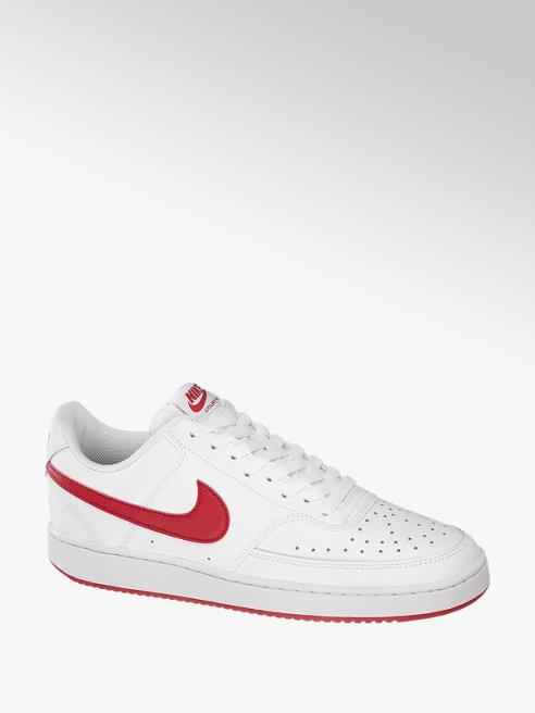 NIKE biało-czerwone sneakersy męskie Nike COURT VISION LOW