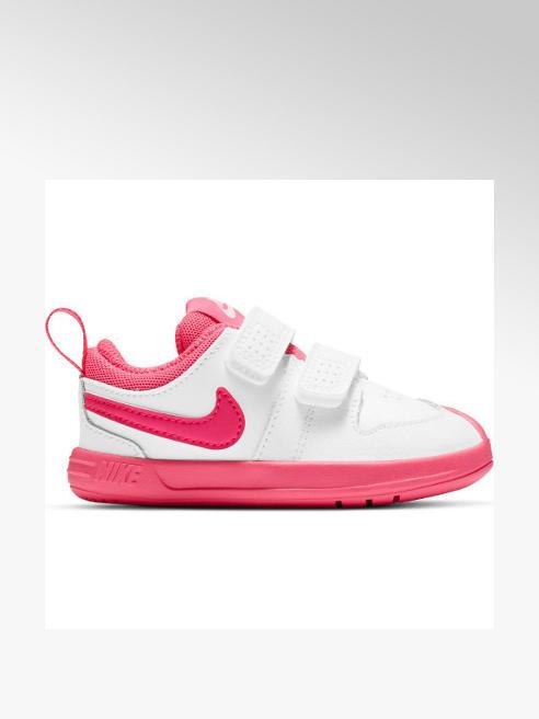 NIKE biało-różowe sneakersy dziewczęce Nike Pico
