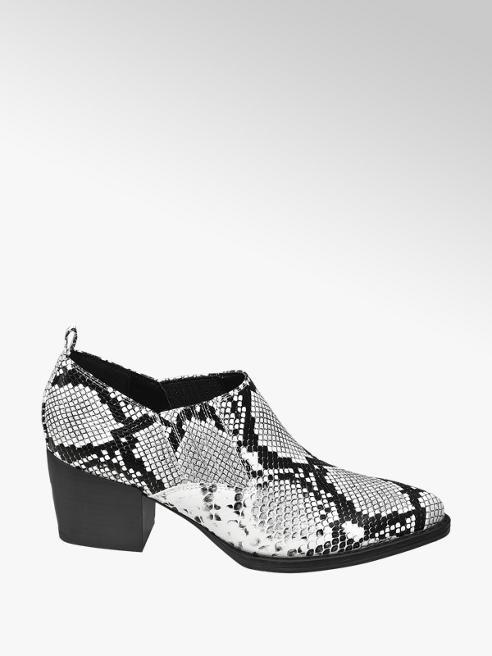Graceland botki damskie Graceland w wężowy wzór