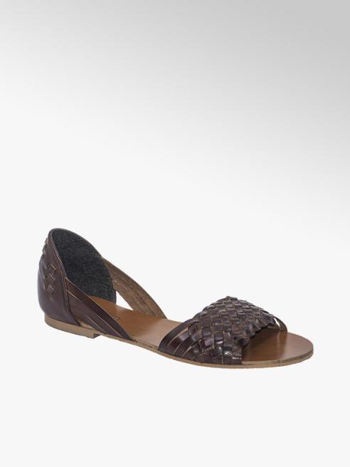 5th Avenue brązowe sandały damskie 5th Avenue