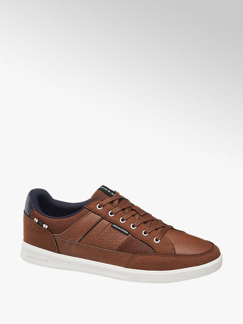 Jack + Jones brązowe sneakersy męskie Jack + Jones