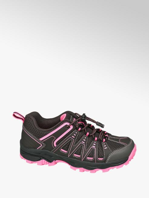 Graceland brązowo-różowe sneakersy dziecięce Graceland